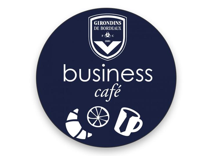 BUSINESS CAFE EN COLLABORATION AVEC LE FC GIRONDINS DE BORDEAUX